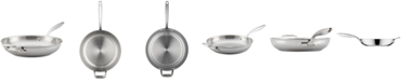 """Breville Thermal Pro Clad Stainless Steel 12.5"""" Fry Pan"""