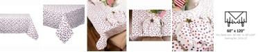 "Design Imports Americana Stars Print Table cloth 60"" X 120"""