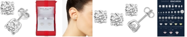 Macy's Diamond Stud Earrings (3/4 ct. t.w.) in 14k White, Yellow or Rose Gold