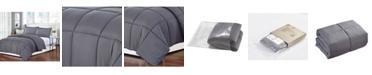 Ac Pacific Polyester Medium Warmth Down Alternative Queen Comforter with Duvet Insert
