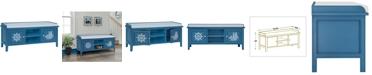 Gallerie Decor Oceana Storage Bench