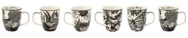 Karma Gifts Boho Black And White Mug