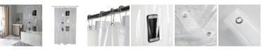Bath Bliss 6 Pocket Tech Shower Curtain Liner