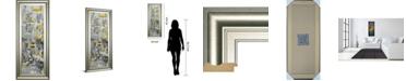 "Classy Art Reflections II by Danhui Nai Framed Print Wall Art, 18"" x 42"""