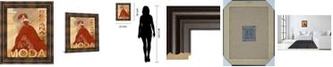 "Classy Art Semana De La Moda by Tava Studio Framed Print Wall Art, 22"" x 26"""