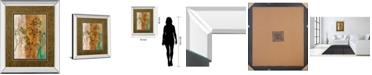 "Classy Art Spring Branch II by Norm Olson Mirror Framed Print Wall Art, 34"" x 40"""