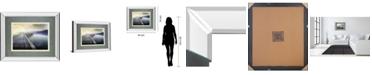 "Classy Art Hazy Morning by Michael Calascibetta Mirror Framed Print Wall Art, 34"" x 40"""