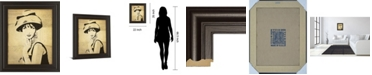 "Classy Art Fashion News I by Wild Apple Graphics Framed Print Wall Art, 22"" x 26"""