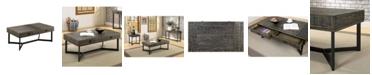 Furniture of America Yurman 2 Drawer Coffee Table