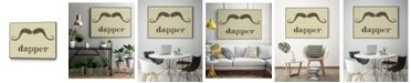"""Giant Art 24"""" x 18"""" Dapper Art Block Framed Canvas"""