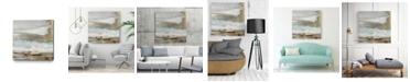 "Giant Art 20"" x 20"" Playa Secreto II Teal Version Museum Mounted Canvas Print"