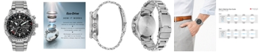 Citizen Eco-Drive Men's Chronograph Promaster Air Titanium Bracelet Watch 46mm, Created for Macy's