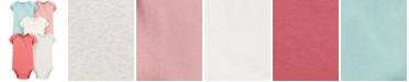 Carter's Baby Girls 5-Pk. Cotton Multi-Color Bodysuits