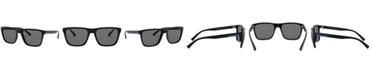 A X Armani Exchange Armani Exchange Men's Polarized Sunglasses, AX4080S 57