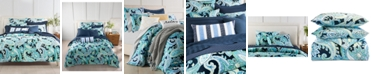 Charter Club CLOSEOUT! Multi Paisley Cotton 300-Thread Count 3-Pc. King Duvet Cover Set, Created for Macy's