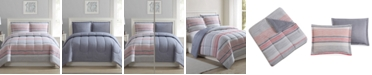 Ellison First Asia Shilo 2-Pc. Reversible Twin Comforter Set, Created for Macy's