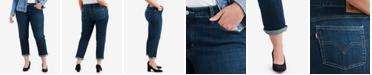 Levi's Trendy Plus Size  Stretch Boyfriend-Fit Jeans