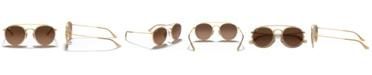 Ray-Ban Sunglasses, RB3647N ROUND DOUBLE BRIDGE
