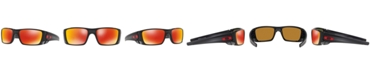 Oakley Polarized Sunglasses, OO9096 FUEL CELL