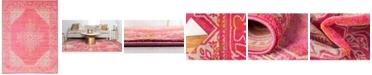 Bridgeport Home Aroa Aro8 Pink 9' x 12' Area Rug