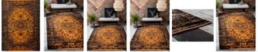 """Bridgeport Home Linport Lin4 Orange 13' x 19' 8"""" Area Rug"""