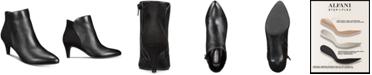 Alfani Women's Harpper Kitten-Heel Booties, Created for Macy's