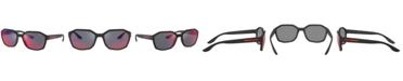 Prada Linea Rossa Sunglasses, PS 02VS 57