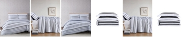 Truly Soft Curtis Stripe 3-Piece Comforter Set - Full/Queen
