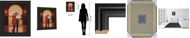 "Classy Art Dancers I Framed Print Wall Art, 22"" x 26"""