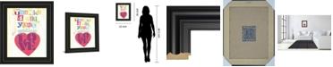 "Classy Art Must Be Love II by Tom Frazier Framed Print Wall Art, 22"" x 26"""