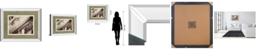 "Classy Art Old Travelers by Gail Peck Mirror Framed Print Wall Art, 34"" x 40"""