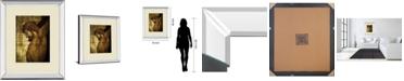 "Classy Art Jesus Christ by Nito Mirror Framed Print Wall Art, 34"" x 40"""