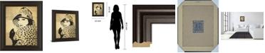 "Classy Art Fashion News II by Wild Apple Graphics Framed Print Wall Art, 22"" x 26"""