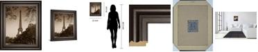 "Classy Art An Afternoon Stroll-Pari by Maihara J. Framed Print Wall Art, 22"" x 26"""