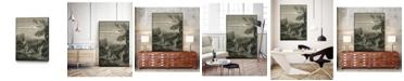 "Giant Art 32"" x 24"" The Spring Head Art Block Framed Canvas"