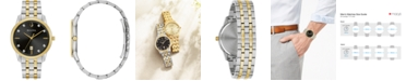 Bulova Men's Sutton Diamond-Accent Two-Tone Stainless Steel Bracelet Watch 40mm