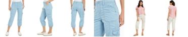 Style & Co Cargo Capri Pants, Created for Macy's