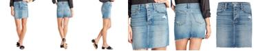 Sam Edelman The Jenny Denim Mini Skirt