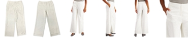 Alfani Flat-Front Trousers, Created for Macy's
