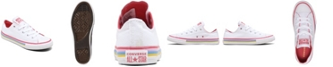 Converse Little Girls Chuck Taylor All Star Multi-Stripe Casual Sneakers from Finish Line