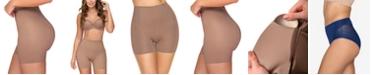 Leonisa Women's  Moderate Control Padded Shaper 012889