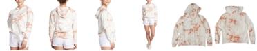 Roxy Juniors' Tie-Dye Cotton Hooded Top