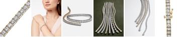 Macy's Diamond Bracelet in 10k Gold (5 ct. t.w.)