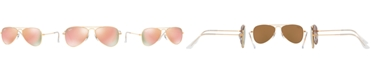 Ray-Ban Jr Ray-Ban Junior Sunglasses, RJ9506S AVIATOR MIRROR ages 7-10