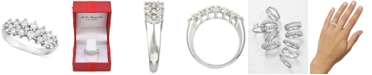 Macy's Diamond Band (1 ct. t..w) in 14k White Gold, Gold or Rose Gold