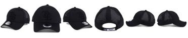 New Era Tampa Bay Rays Black/Black Perf Tech 9FORTY Adjustable Cap
