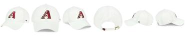 '47 Brand Arizona Diamondbacks White Clean Up Cap
