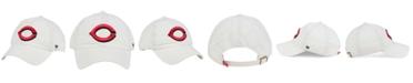 '47 Brand Cincinnati Reds White Clean Up Cap