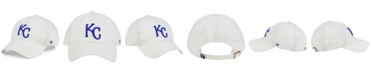 '47 Brand Kansas City Royals White Clean Up Cap
