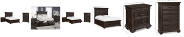 Furniture Hansen Storage Bedroom Furniture, 3-Pc. Set (Full Bed, Nightstand, and Chest), Created for Macy's